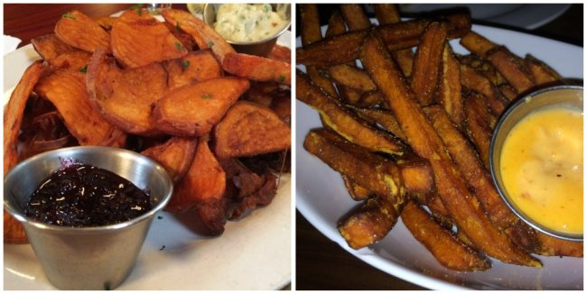 sweet potato fries, Alchemy, Dlux