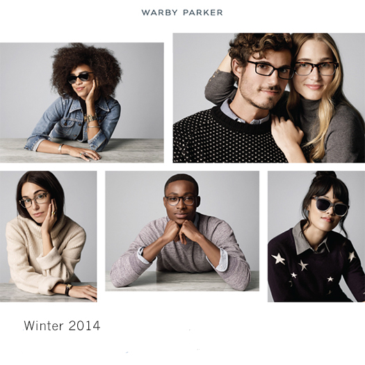 warby parker new winter collection